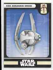 2008 Star Wars Miniatures Asn Assassin Droid Stat Card Only Near Mint