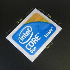 ntel Core 2 Duo 2009 Version Sticker 18mm x 24.5mm - Desktop size