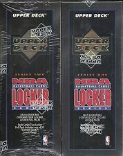 1993-94 Upper Deck Basketball Factory Sealed Locker 2-Box Lot (Series 1 & 2)   .