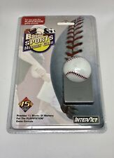 InterAct Baseball Sports Memory Card For Use With PlayStation Game Console