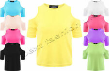 Unbranded Polyester Short Sleeve Cropped T-Shirts for Women