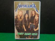 THOMSUN ORIGINAL AUDIO CASSETTE TAPE METALLICA BEST ROCK HITS HTF VINTAGE