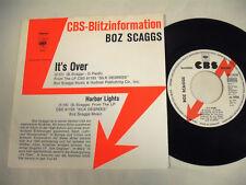 """BOZ SCAGGS  It's Over  7"""" Promo"""