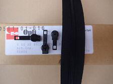 3m OPTI Endlos Reißverschluss + 15 Schieber S 50 Werra HF Zipper schwarz Spiral