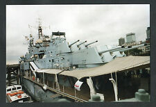C1990s Original Photo: View of the Main Guns, HMS Belfast, London