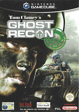 GHOST RECON for Nintendo Gamecube - with box & manual - PAL