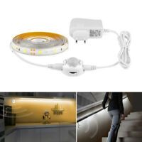 LED Under Cabinet light PIR Motion Sensor LED Strip SMD 2835 Night light Closet