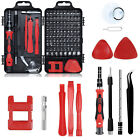 117+In+1+Screwdriver+Repair+Tool+Kit+Magnetic+Electronic+Device+Tool+Red