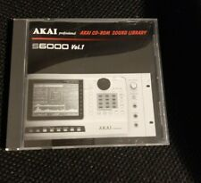 AKAI S6000 Vol. 1 - Sampling CD