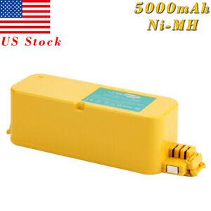 5000mAh 14.4V Ni-MH For iRobot Roomba APC 400 4000 4905 4210 Discovery Series