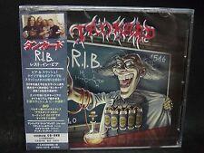 TANKARD R.I.B. (Rest In Beer) JAPAN CD + DVD Tankwart Lightmare Seventh Avenue