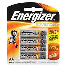 30 Premium Energizer AA Alkaline Batteries X91pack Advanced Battery Size