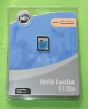 Palm m125, m130, m500, m505, m515 & i705  Palmpak Travel Card - US Cities -*NEW*