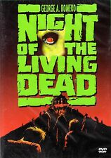 Night of the living Dead , 100% uncut , Region2 DVD , Tom Savini , NEW , Zombie