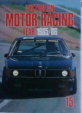 Australian Motor Racing Year 1985/1986  # 15 ~ Yearbook HC/DJ
