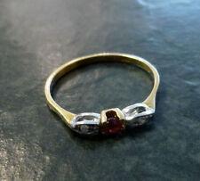 Echtschmuck aus mehrfarbigem Gold Ringe mit Diamant