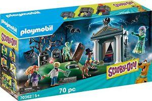 Playmobil - Scooby-Doo! Histoires au Cimetière Jeu