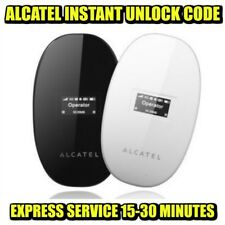Unlocking Code For Alcatel Y580 Y580D Mobile Wi-Fi Instantly