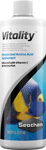 Seachem Vitality 500ml Vitamin & Amino acid Supplement Enhanced with Vitamin C