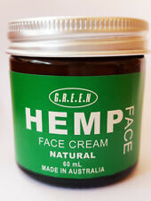 Hemp Face Cream Natural Organic Anti Wrinkle Anti Ageing Neck Vegan Free Shippin