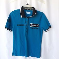 Shimano Team Pearl Izumi Pro Polo Shirt Women's Size Medium/g10