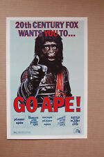 Go Apes Planet of the Apes #1 Lobby Card Movie Poster all 5 movies