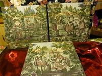 tableaux     tapisserie  scenes enfantines pour décoration murale 47x47cm