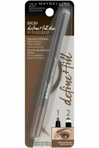 Maybelline New York Brow Define Plus Fill Duo Makeup,