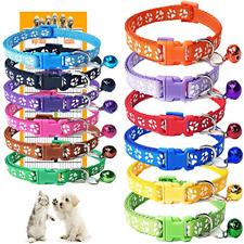 Gamuda Puppy Collars - Super Soft Nylon Whelping Puppy Collars - Adjustable for