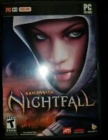 Guild Wars : Nightfall ( PC CD-ROM NCSoft, 3 Discs ) Guides and Poster included