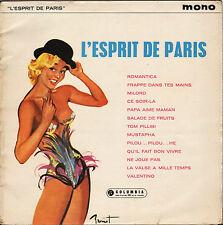 "DIVERS ""L' ESPRIT DE PARIS"" U.K. LP COLUMBIA 1259 POCHETTE BRENOT !"