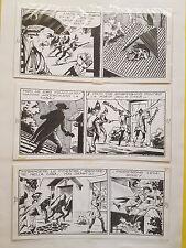 tavola originale FRANCESCO GAMBA piccolo ranger 3 striscie- 21-22-23 -lavezzolo