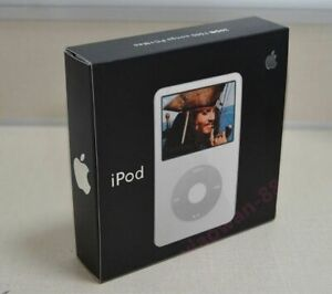 NEW Apple iPod Classic 5th Generation Enhanced 80GB White Sealed Retail Box