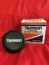 Tamron F System 2x tele-converter Fixed Mount Minolta M MC4 W/ Caps