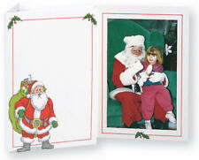 TAP Christmas Santa Claus Photo Folders for 5x7 Pictures ( Pkg. / 100 )