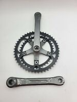 Sugino CYCLOID crankset 175mm Double 48/38t Oval Chainring Made in Japan