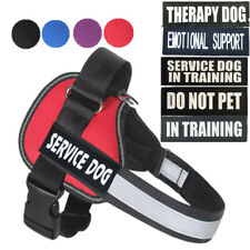 Emotional Support Dog Vest No Pull Harness For ESA SERVICE DOG THERAPY DOG pets