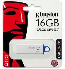 Kingston 16GB DataTraveler G4 16G USB 3.0 Flash Drive DTIG4/16GB Retail