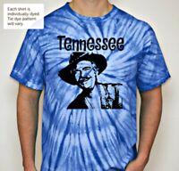 04d5ea14 Grateful Dead t shirt Tennessee Jed Tie Dye Jerry Garcia Phil Lesh Weir  Royal Bl
