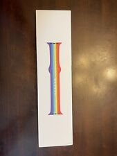 Authentic Apple Rainbow Pride Edition Sport Band for Watch (44mm)