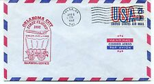 FFC 1982 First Flight Delta Air Lines Oklahoma City Tulsa OK US Postal Service