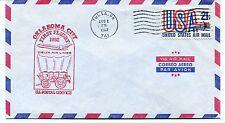 FFC 1982 First Flight Delta Air Lines Oklahoma City Tulsa OK US Postal Service