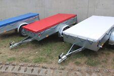 Anhängerplane Flachplane 87 x 50s x 2 Cm Länge Blau LKW Plane 680 gr/m²