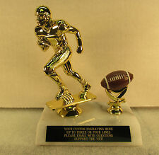 "Football Trophy Award Youth Fantasy 7"" FREE Engraving  Shipped 2 Day Mail"