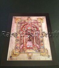 Book of Kells - Beautiful Old Irish Meath Celtic - Trinity College Poster Print