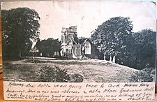 Irish Postcard Muckross Abbey Killarney Ireland Early Wrench Series No 109 1903