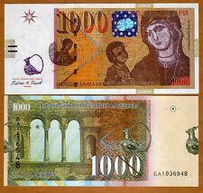 Macedonia, 1000 (1,000) Denari, 2009, P-22-New, UNC > Madonna and Christ Child