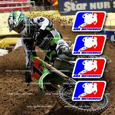 motocross ama decals fits dirt bike