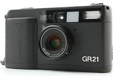【 NEAR MINT 】 Ricoh GR21 Point & Shoot Film Camera From Japan #201