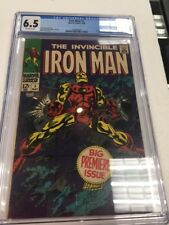 Marvel Comics The Invincible Iron Man #1 CGC 6.5 (May 1)